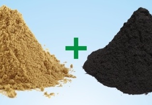 bentonite and coal-dust premix